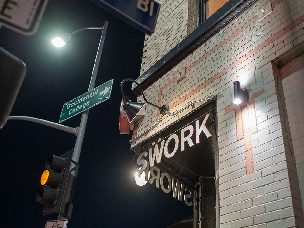 Swork Coffee, Eagle Rock, Los Angeles, CA