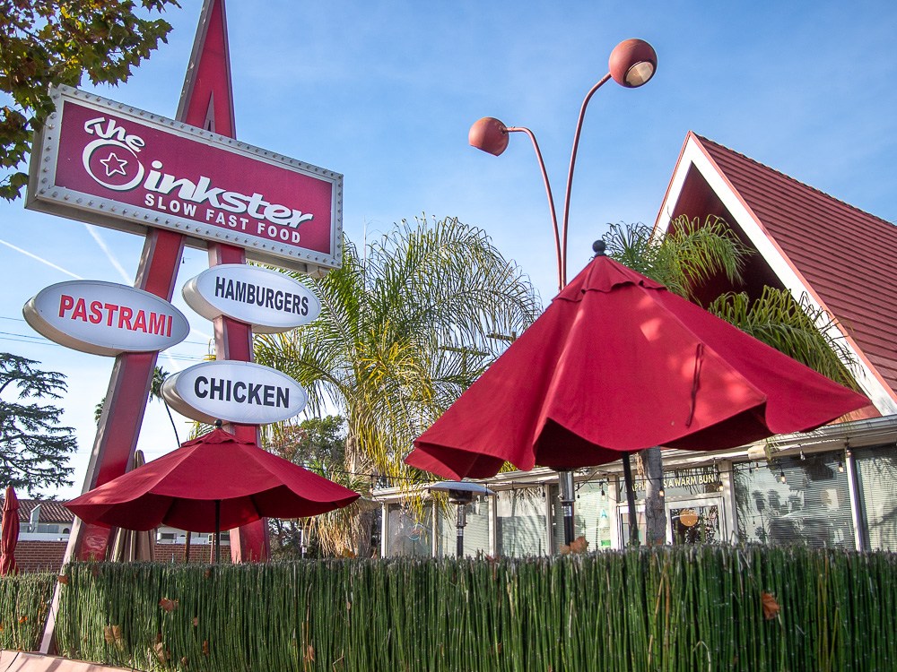 The Oinkster eatery, Eagle Rock, Los Angeles, CA
