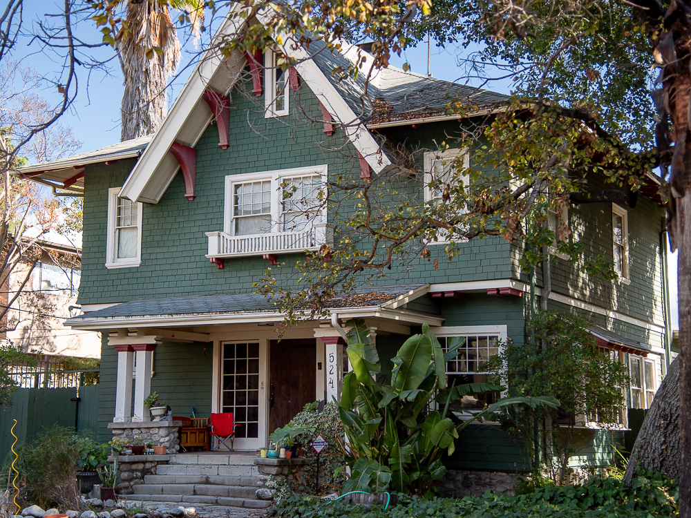 Historic home, Garvanza, Los Angeles, CA