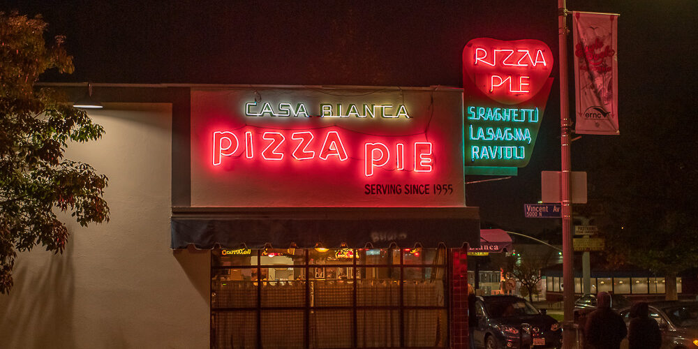 Casa Bianca Pizza, Eagle Rock, Los Angeles, CA
